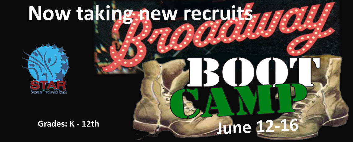 Broadway Boot Camp ~ June 12-16