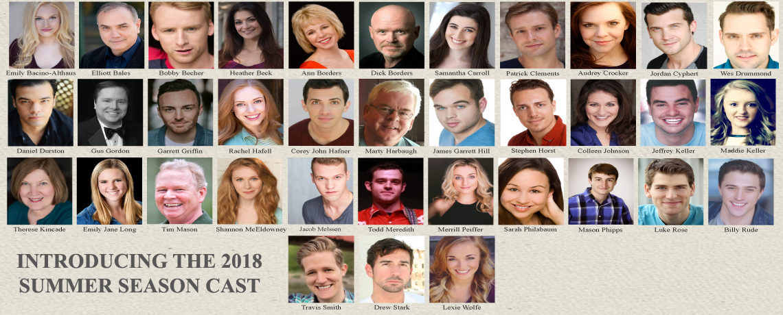 2018 Summer Season Cast