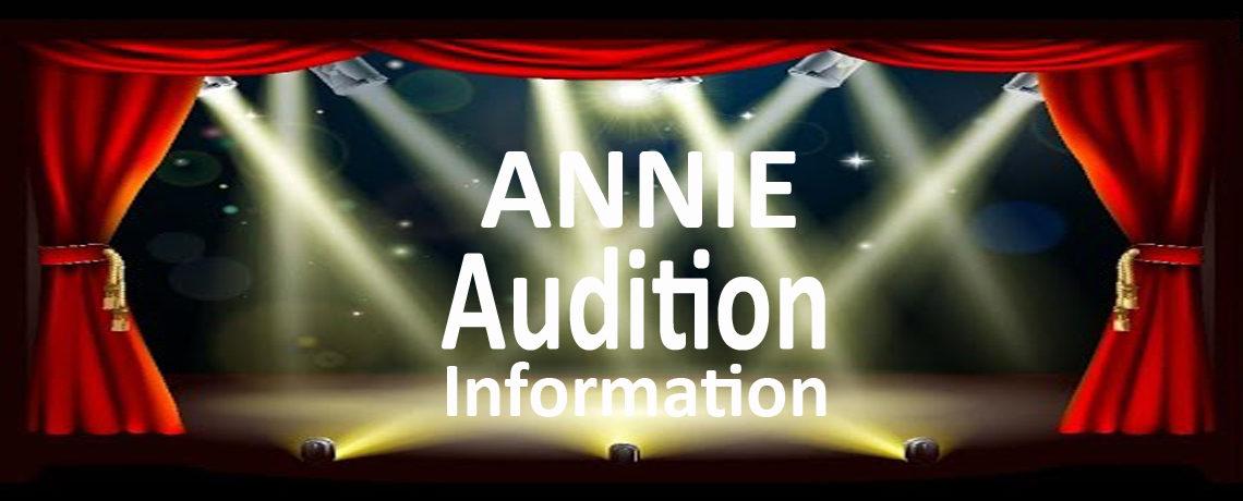 Annie Auditions – April 7