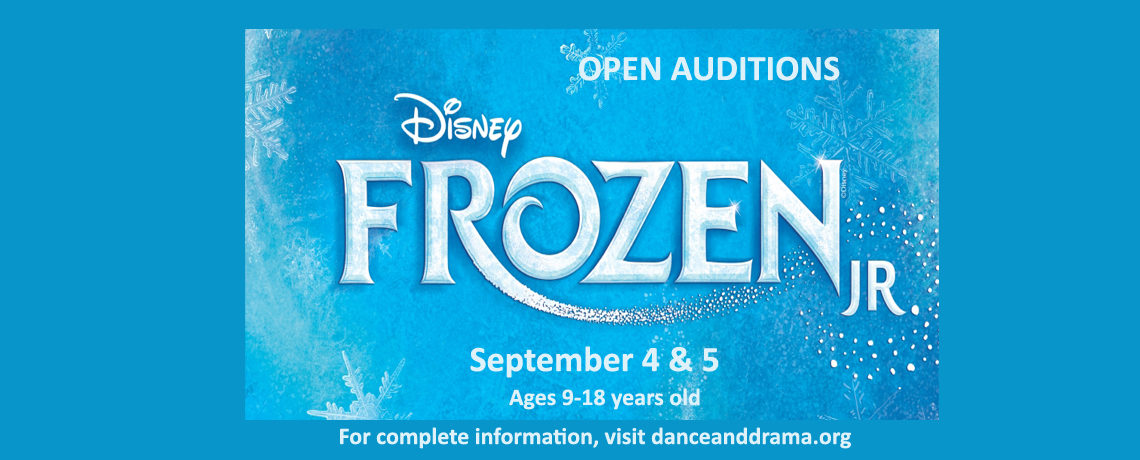 Frozen Jr. Auditions