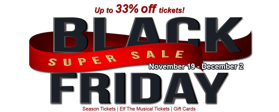Black Friday Sale ~ November 19-December 2