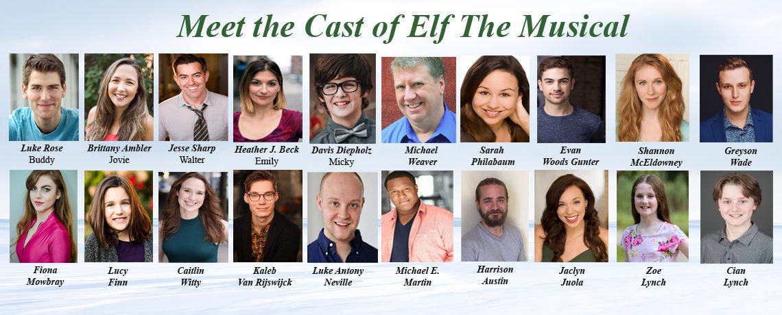 Meet the Cast ~ Elf The Musical