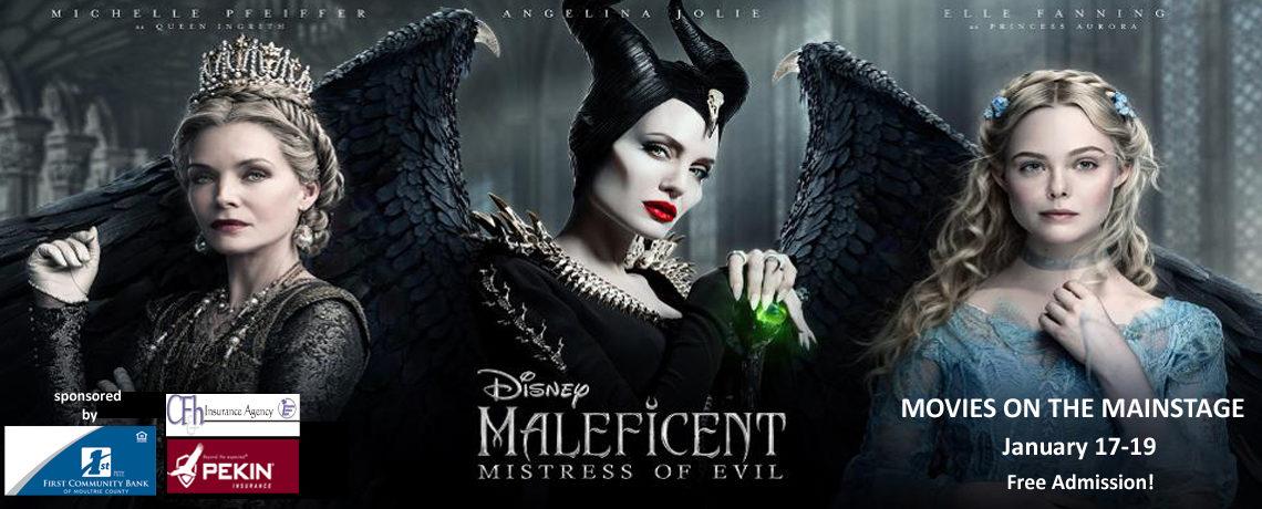 Maleficent Mistress of Evil ~ January 17-19