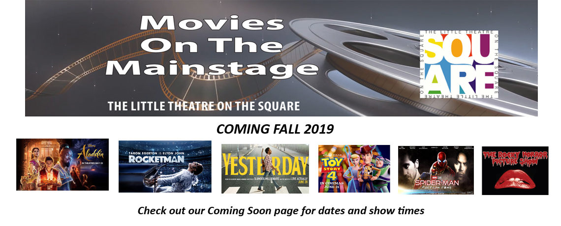 Movies On The Mainstage Fall 2019