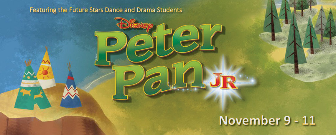 Disney's Peter Pan Jr. ~ November 9 – 11