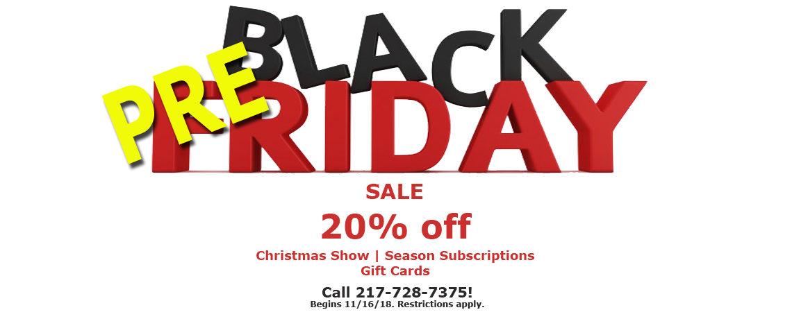 Pre-Black Friday Deals!
