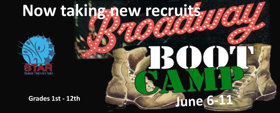 Broadway Bootcamp ~ June 6 -11
