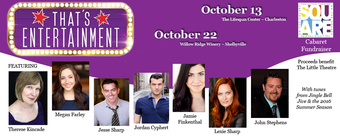 2015 Cabaret Fundraiser October 13th and 22nd